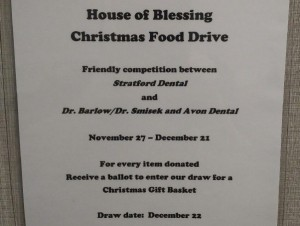House of Blessing Food Drive